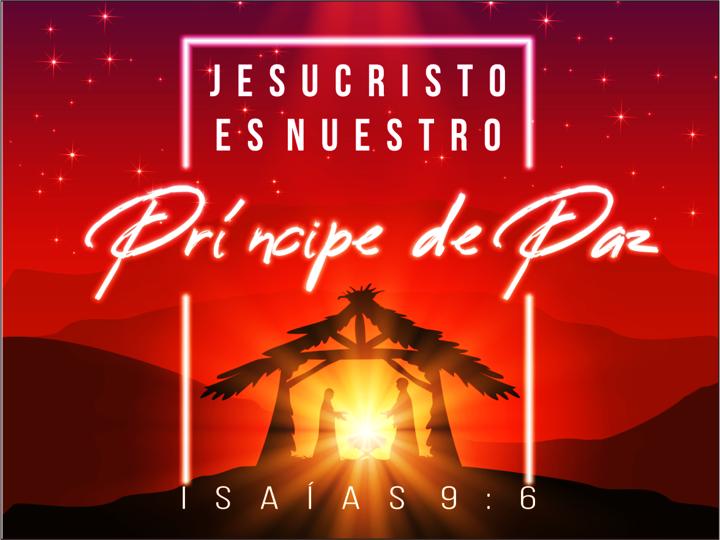 Jesucristo es nuestro principe de paz