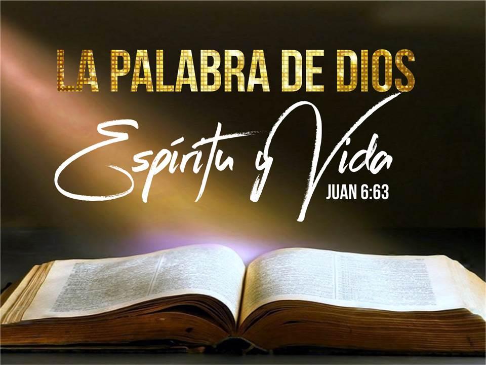 La palabra de Dios espíritu y vida