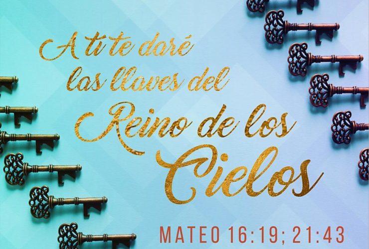 A ti te daré las llaves del Reino de los Cielos