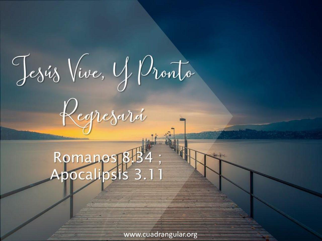 Jesús viene y pronto regresará