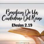 Beneficios de un ciudadano del Reino
