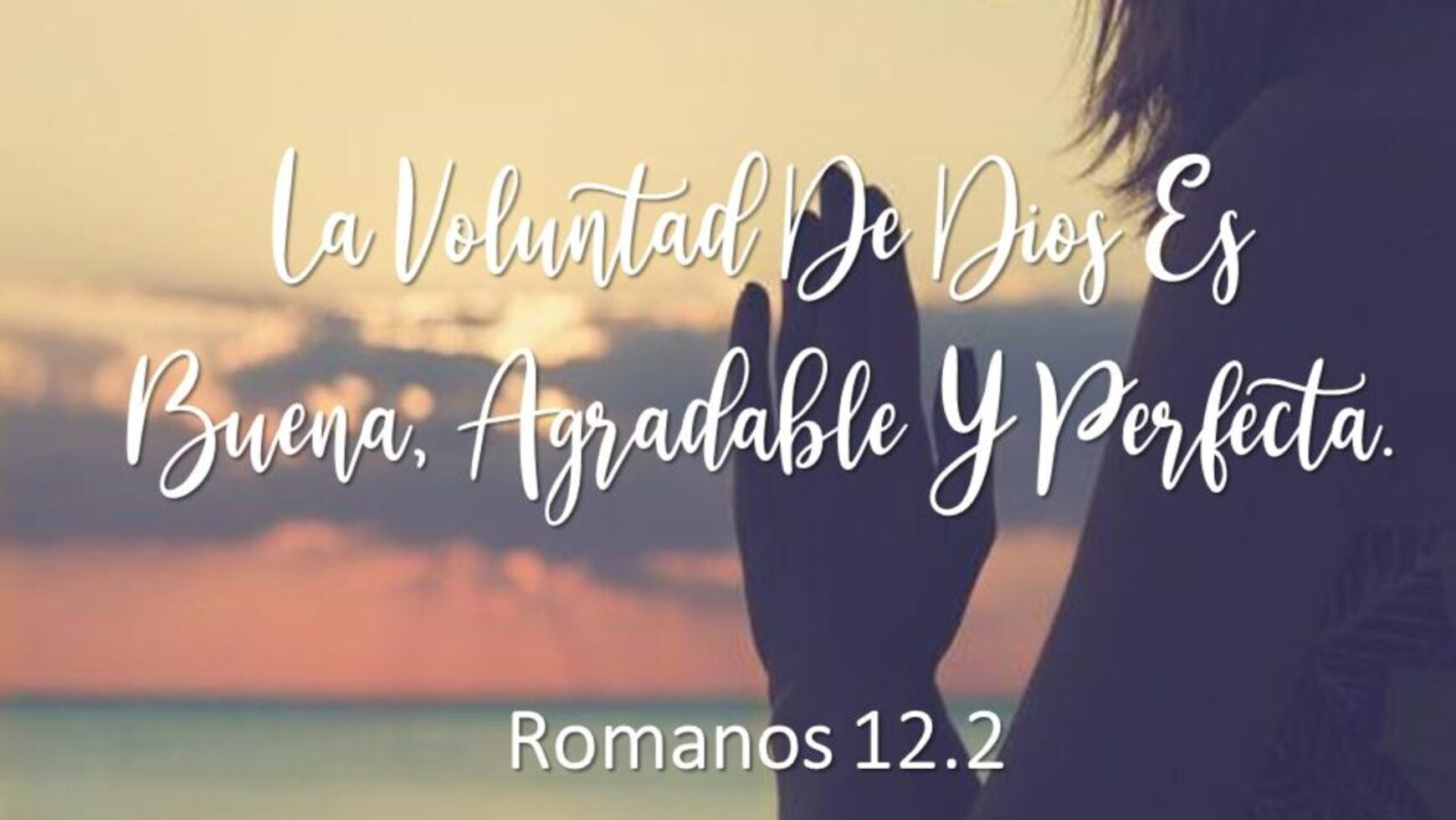 La voluntad de Dios es buena, agradable y perfecta
