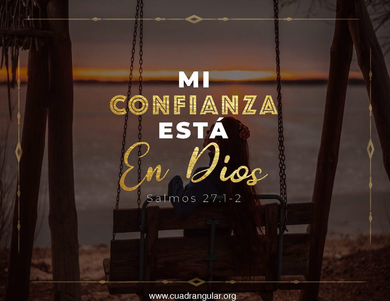 Mi confianza está en Dios